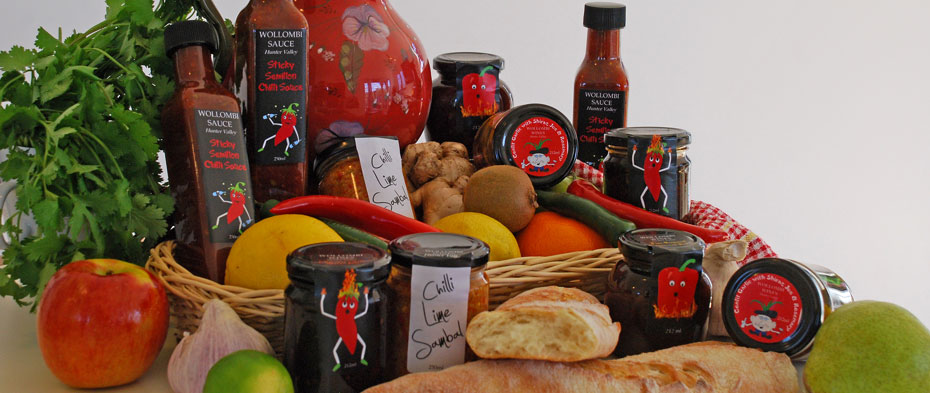 Local Produce available from Wollombi Wines