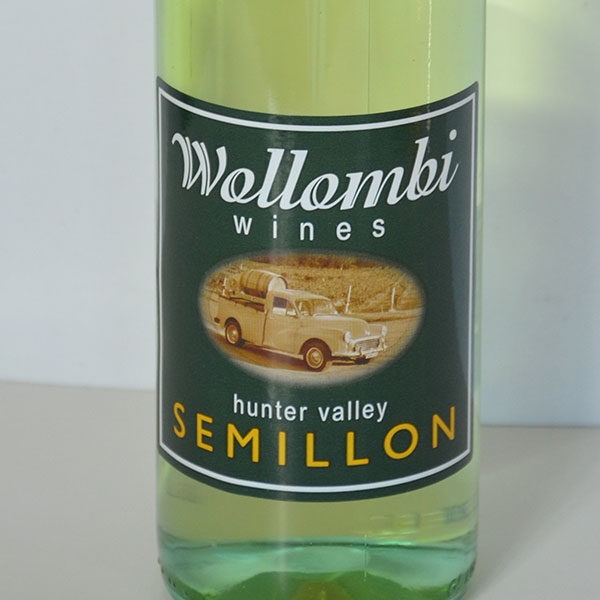 Wollombi Wines Semillon, Hunter Valley