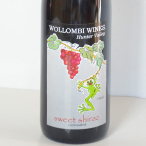 Wollombi Wines Sweet Shiraz, Hunter Valley