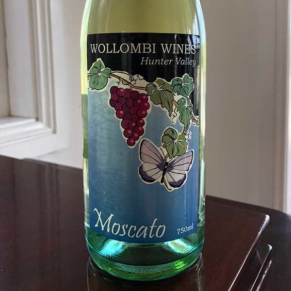 Wollombi Wines Moscato, Hunter Valley