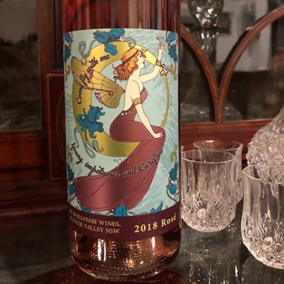 Wollombi Wines Rosé, Hunter Valley
